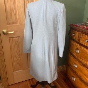 Calvin Klein Jackets & Coats - Open-front, long, tailored-fit, blazer.